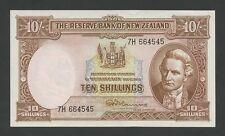 NEW ZEALAND - 10 sh  1960  Cook  P158d  Uncirculated  ( Banknotes )