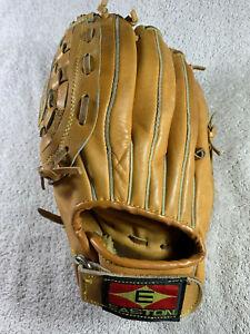 """Easton EX 110 10"""" Baseball Mitt Glove LHT Left Handed Thrower Leather Korea"""