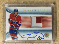 15-16 UD Ultimate #05-CH Rookies RC Autographed Patch Retro CHARLES HUDON /15
