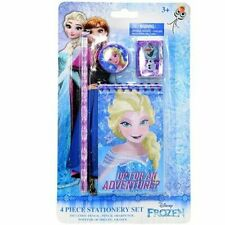 Disney Frozen Stationary Set Back to School Supplies for Kids 4 Pieces