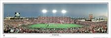 Texas Tech Red Raiders Football Jones Stadium Game Night Panoramic POSTER Print