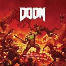 Doom [Original Game Soundtrack] [7/6] by Mick Gordon (CD, Jul-2018, 2 Discs, Laced Records)