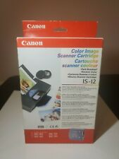 Canon Color Image Scanner Cartridge IS 12 for BJC 50 BJC 80 Color Bubble Jet