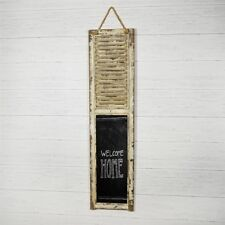 "Hanging Distressed Shutter Chalkboard - 48"" tall"