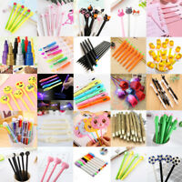 30Styles Cute Gel Pen Ballpoint Stationery Writing Sign School Office Child Gift