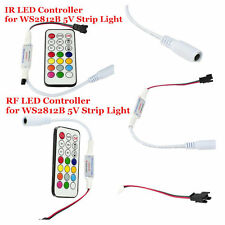 Mini-LED RGB Controller IR/RF Wireless Digtal für WS2812B LED-Streifen-Licht 5V