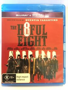 THE H8FUL EIGHT - Hateful Eight Blu Ray - AS NEW