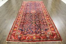 Traditional Vintage Persian Wool  4.4 X 10 Oriental Rug Handmade Carpet Rugs