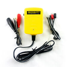 UK MotoBatt 6V 12V Baby Boy Bike Battery Charger All AGM, Lead Acid Calcium Gel