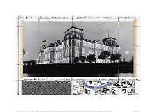 Christo Reichstag XXIV Poster Kunstdruck Bild Offsetdruck 50x70 cm