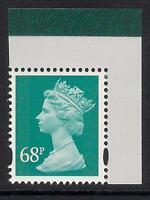 GB 2011 sg U3060 68p Turquiose-Green M11L MPIL Dahl booklet stamp MNH ex U3005