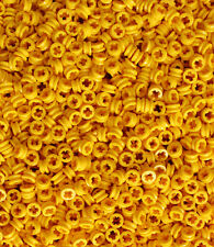 LEGO Technic NEW 100 pcs YELLOW BUSH Half Bushing 1/2 Cross Connector Part 4265c