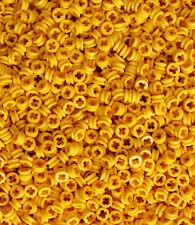 LEGO Technic NEW 100 pcs YELLOW BUSH Half Bushing 1/2 Cross Connector Part 4265c