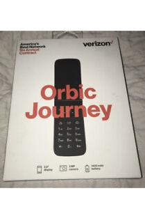 NEW Orbic ORB2200LBVZPP Journey V Flip Basic Phone - Black