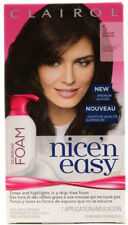 Clairol # 5 Medium Brown Nice'n Easy Hair Color Blend Foam Permanent - FREE SHIP