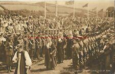 Isle of Man Ancient Tynwald Ceremony St Johns Vintage Postcard 12.8
