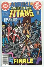 TALES OF THE TEEN TITANS ANNUAL #3 Apr 1984 DC NM+ 9.6 JUDAS CONTRACT FINALE B/O