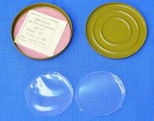 Soviet Russian Army Gas Mask PMG Box + Plastic Lamellae against Breath Sweating