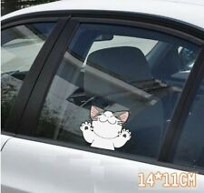 Cute Cartoon Funny FAT CAT Car Decal Car Sticker - 1pc