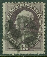 EDW1949SELL : USA 1870 Scott #151 Used. Nice, true color. PSAG Cert. Cat $220.00