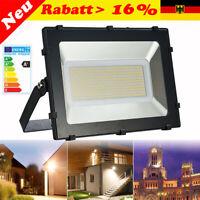 300W  LED Fluter Strahler Scheinwerfer Baustrahler Außenleuchte Garten IP65 220V