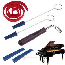 Piano Tuning Kit Tools Tuning Hammer Temperament Strip Handles Long Rubber Mutes