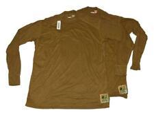 2 x XGO FROG by Peckham USMC Military Flame Resistant FR Base Layer Shirt 3XL