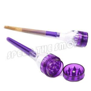 Cigarette Tobacco Grinder Cone Roller Maker Filler Cone Artist Rolling Machine