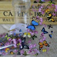 Nail Art Decoration DIY Flower Manicure 1Bottle Transfer Foil Sticker Tip Decal