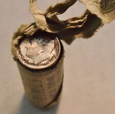 1952 S 10C Original GEM Uncirculated Roll, Lot of (50) Silver Roosevelt Dimes