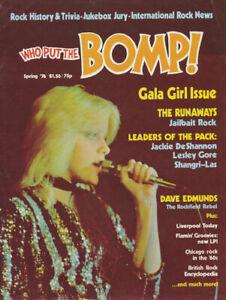 Who Put The Bomp issue 15 - Spring 1976 [USA] - Magazine