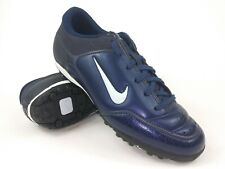 Nike Mens Rare First Touch ll Turf 314657-444 Navy Soccer Cleats Boots Size 6.5
