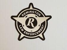 "Remington Law Enforcement Sticker Decal Gun Firearms Hunting  3"" NEW"