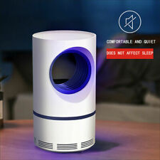 USB LED Electric Mosquito Zapper Killer Fly Insect Bug Trap Lamp Light Bulb FO