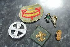 Vintage Boy Scout Patch and Pin Badges