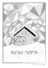 A3/A4 - Bon Iver For Emma Forever Gig Concert Tour Art Wall Posters
