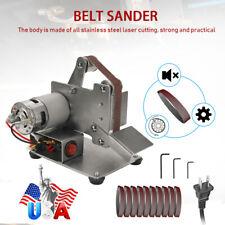 Multifunctional DIY Grinder Mini Electric Belt Sander 7 Gears Adjustable C9O7