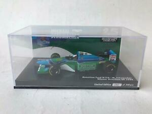Minichamps Benetton B194 Schumacher World Champion 1994 winner Brazilian 1/43