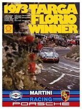 Porsche 911 *LARGE POSTER* 1973 Targa Florio Race Car - AMAZING PRINT