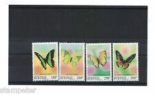 1993 Burundi Butterflies SG 1561/4 Set of 4 MUH