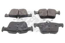 Bremsbelagsatz, Scheibenbremse MAPCO 6675 hinten für AUDI SEAT SKODA VW