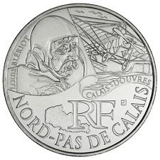 10 euros des régions personnages en argent Nord Pas de Calais 2012