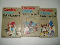 CAROLINE CHERIE / SAINT-LAURENT Vol.1/2/3 Ed. Garzanti 1972