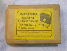 Nos Weston 0174976 Current Transformer 150 5 Ratio
