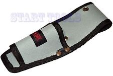 """Tool Pouch Belt Accessory Holder 3"""" x 8"""" For Utility Knife, Pliers, and More"""