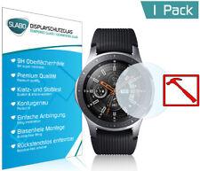 Slabo PREMIUM Panzerglasfolie für Samsung Galaxy Watch 46 mm KLAR Tempered Glass