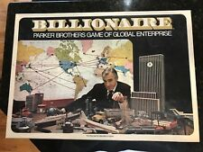 Billionaire board game by Parker Brothers
