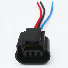 2* H13 9008 HID LED bulb Female socket relay base outlet replace plug connector