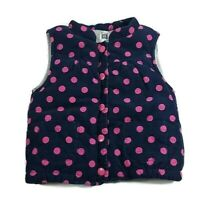 Girls OLD NAVY 2pc White Purple Pink Cotton Polka Dot Bunny Rabbit Pajamas New