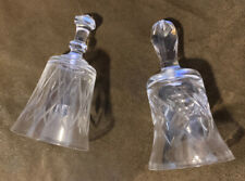 Crystal Bells Lot Of 2